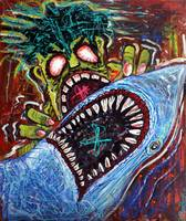 Zombie Shark Fight