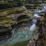 """Cascading Stream - Watkins Glen"" by dbwalton"
