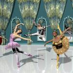 """Prima Ballerinas"" by WallArtDeco"