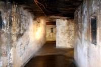 Battery Mishler corridor, lantern well