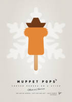 My MUPPET ICE POP - Fozzie Bear
