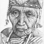 """Klamath Woman"" by ArtsandDogs"