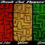 """Fresh Cut Peppers"" by waynecantrell"