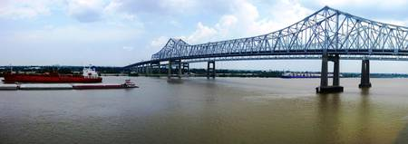 Mississippi River Bridge New Orleans