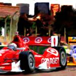 """Indy Racing in streets of Baltimore"" by ArtbySachse"
