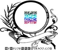 email medecor - bordered qr code