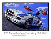 2011 Mercedes-Benz Gull-Wing SLS AMG