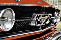 Mustang 65 grille