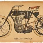 """1903 Harley Davidson"" by RGMcmahon"