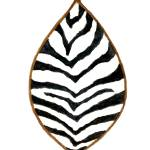 """African Zebra Skin Shield"" by vigliotti"