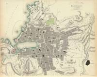 Vintage Map of Marseille France (1840)