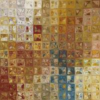 Tile Art #5, 2013. Modern Mosaic Tile Art Painting
