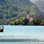 """Boat Rides in Lake Bled"" by DonnaCorless"