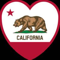 Clipart_-_California_Flag_-_Heart