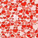 """Red hearts wallpaper"" by ArgosDesigns"