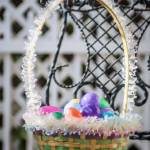 """easter eggs basket"" by digidreamgrafix"