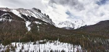 Never Summer Wilderness Area Panorama