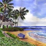"""Simply Paradise Castle Kiahuna Plantation Poipu"" by JennyFloravita"