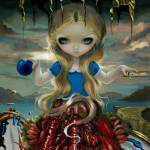 """Alice in a Dali Dress"" by strangeling"