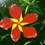 """Florida Scarlet Hibiscus"" by mazz"