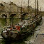 """On the Banks of the Seine"" by OlegTrofimoff"