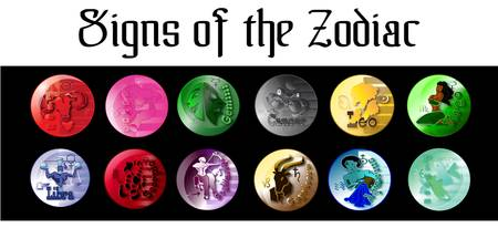 signs of the zodiac blk