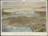 Vintage Map of Boston (1870)