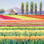 """""""Quilt of tulips"""" by studiobythesound"""