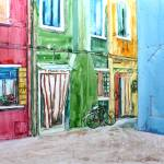 """Colorful Houses of Burano Italy"" by BorsosAnnaRuzsan"