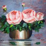 """Double Roses"" by mazz"