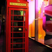 London Red Phone Booth Art Prints & Posters by Haleh Mahbod