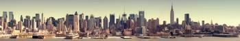 Hugh Detailed Panorama of Midtown Manhattan