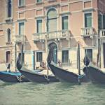 """Gondolas Waiting"" by kristinadvorak"