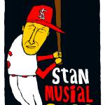 """Stan Musial St Louis Cardinals"" by jbperkins"