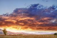 Epic Colorado Country Sunset Landscape