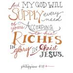 """""""Every Need - Phil. 4:19"""" by crystalliora"""