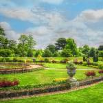 """Fine Art English Country Garden Summer"" by SteveWalton"