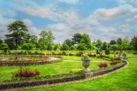 Fine Art English Country Garden Summer