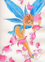 Blue Wings Faerie