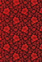 Pre-Revolutionary Floral cloth, late nineteenth ce