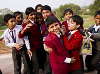 Indian School Children