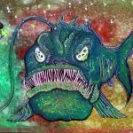 """Angry Angler Andy"" by ArtPrints"