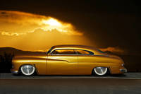 1950 Mercury Custom 24k Gold
