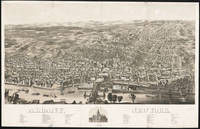 Vintage Pictorial Map of Albany New York (1879)