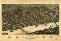 Vintage Pictorial Map of Little Rock Arkansas (188
