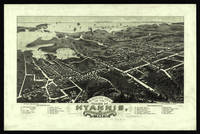 Vintage Pictorial Map of Hyannis Massachusetts (18