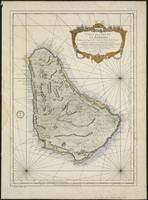 Vintage Map of Barbados (1758)