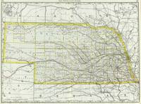 Vintage Map of Nebraska (1889)