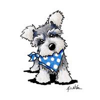"""Stunning """"Miniature Schnauzer"""" Drawings And Illustrations For Sale ..."""