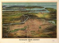 Vintage Pictorial Map of Newark NJ (1916)